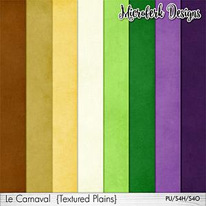 Le Carnaval Textured Plains