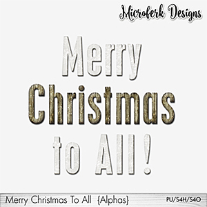 Merry Christmas To All Alphas