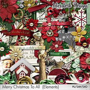 Merry Christmas To All Elements