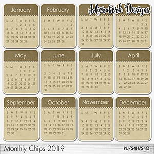 Monthly Chips 2019