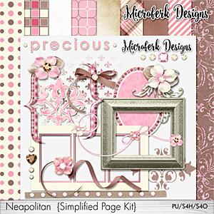 Neapolitan Simplified Page Kit