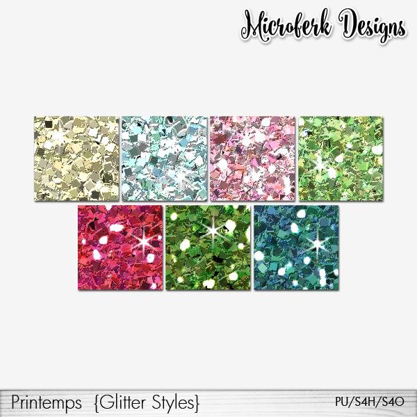 Printemps Glitter Styles