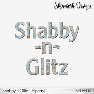 Shabby-n-Glitz Alphas