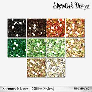 Shamrock Lane Glitter Styles