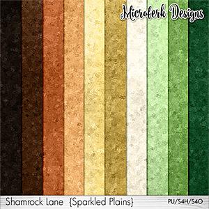 Shamrock Lane Sparkled Plains