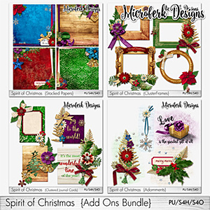 Spirit of Christmas Add Ons Bundle