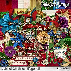 Spirit of Christmas Page Kit