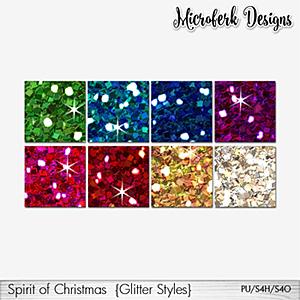 Spirit of Christmas Glitter Styles