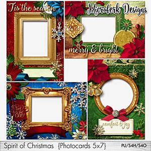 Spirit of Christmas Photocards 5x7