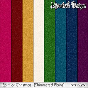 Spirit of Christmas Shimmered Plains