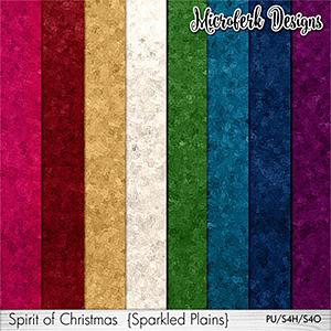 Spirit of Christmas Sparkled Plains