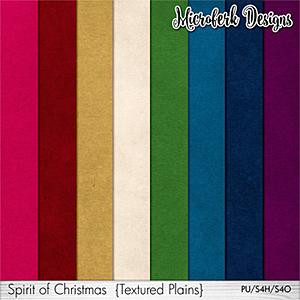 Spirit of Christmas Textured Plains