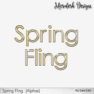 Spring Fling Alphas