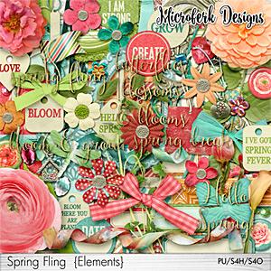 Spring Fling Elements