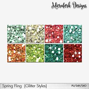 Spring Fling Glitter Styles