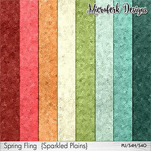 Spring Fling Sparkled Plains