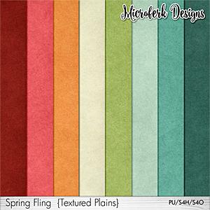 Spring Fling Textured Plains