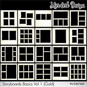 Storyboards Basics Vol 1 - Gold