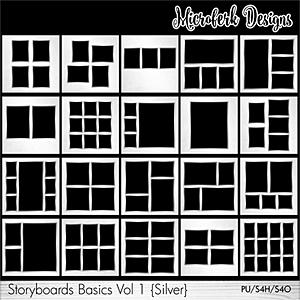 Storyboards Basics Vol 1 - Silver