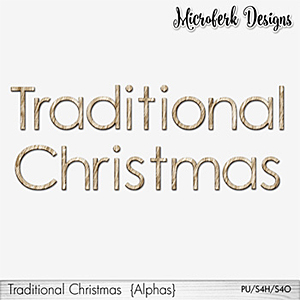 Traditional Christmas Alphas