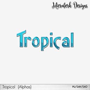 Tropical Alphas