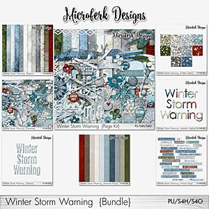 Winter Storm Warning Bundle