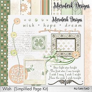 Wish Simplified Page Kit