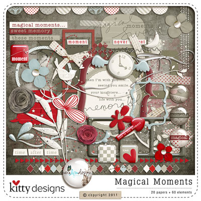 Magical Moments Kit by Kitty Designs & Vera Lim