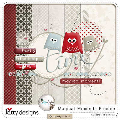 Magical Moments Freebie by Kitty Designs & Vera Lim