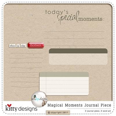 Journal Piece Freebie