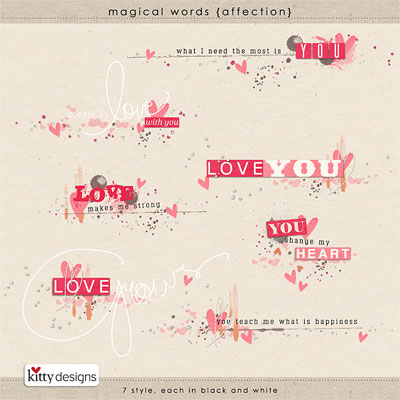 Magical Words {Affection}