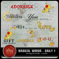 Magical Words - Daily 1
