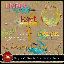 Magical Words 5 - Dutch
