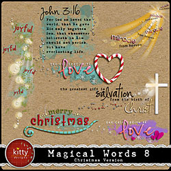 Magical Words 8 - Christmas