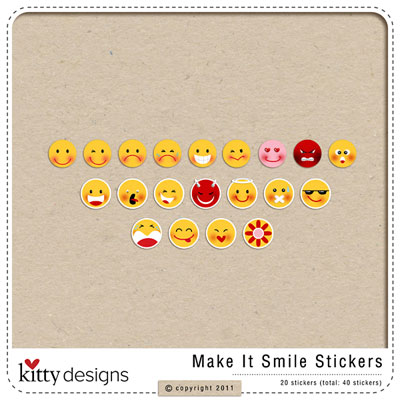 Make It Smile Stickers