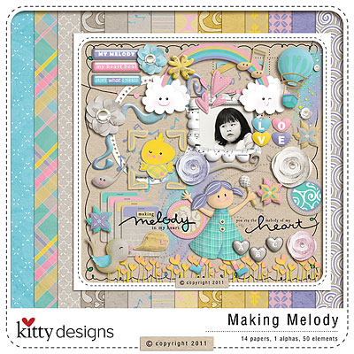 Making Melody {FREE GIFT with purchase}