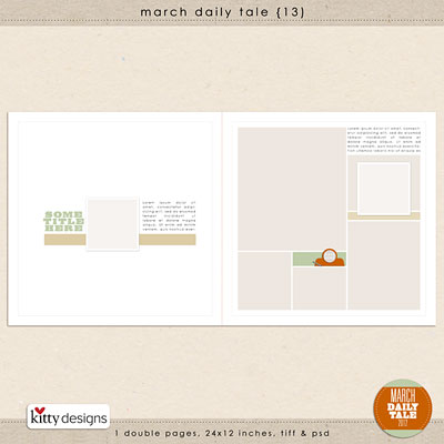 March Daily Tale 13