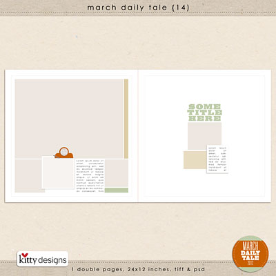 March Daily Tale 14