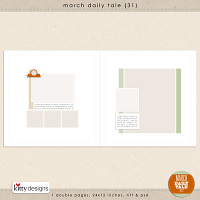 March Daily Tale 31