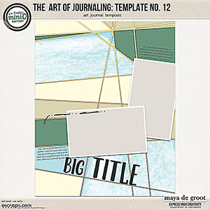 The Art of Journaling: Template no. 12