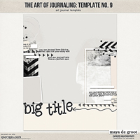 The Art of Journaling: Template no. 9