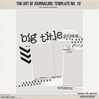 The Art of Journaling: Template no. 10