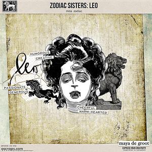 Zodiac Sisters: Leo