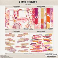 A taste of Summer, the Bundle