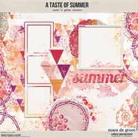 A taste of Summer, Clusters
