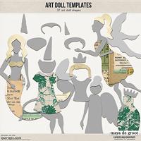 Art Doll Templates