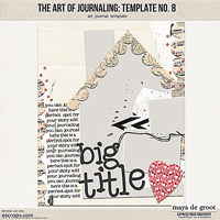 The Art of Journaling: Template no. 8