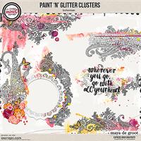 Paint 'n' Glitter Clusters [bohemian]