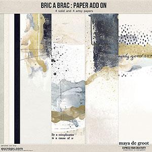 Bric a Brac  Paper Add On