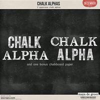 Chalk Alphas
